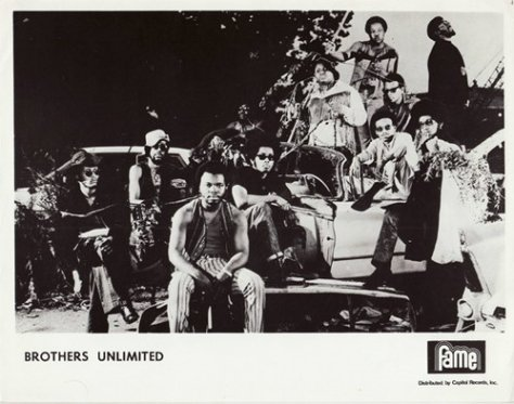 Brothers Unlimited (1970s Fame Records Press Photo)