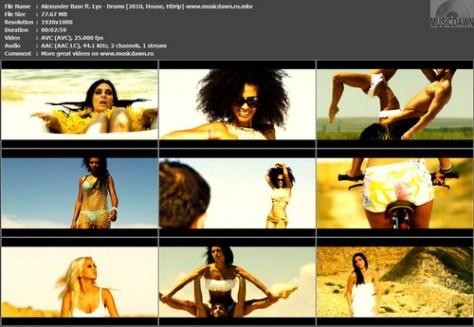 Alexunder Base ft. Lys – Drums [2010, HD 1080p] Music Video (Re:Up)