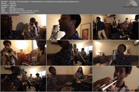Aloe Blacc & The Grand Scheme – Live in Studio [2010, HDrip] 4 Music Videos
