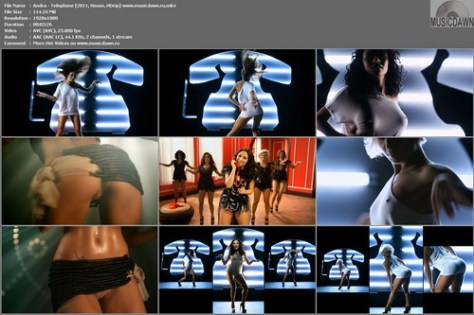 Andra – Telephone [2011, HD 1080p] Music Video