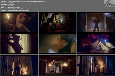 Cassie – King Of Hearts [2012, HD 1080p] Music Video