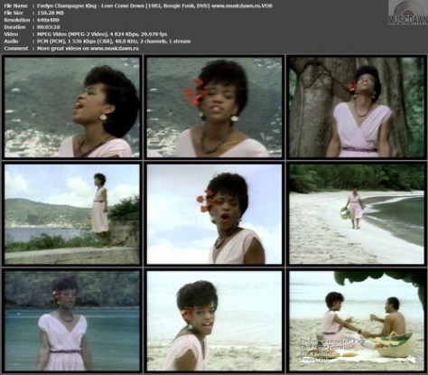 Evelyn Champagne King – Love Come Down [1982, DVD-VOB] Music Video