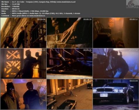 Ice T & Ice Cube – Trespass [1993, DVDrip] Music Video (Re:Up)