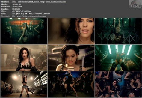 Inna – Club Rocker [2011, HDrip 1080p] Music Video