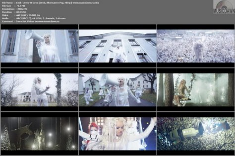Kerli – Army Of Love [2010, HD 720p] Music Video (Re:Up)
