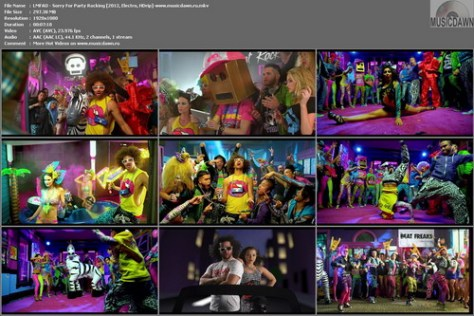 LMFAO - Sorry For Party Rocking (2012, Electro, HD 1080p)