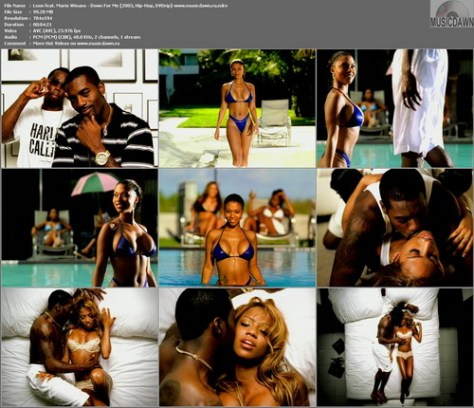 Loon feat. Mario Winans - Down For Me (2003, Hip-Hop, DVDrip)
