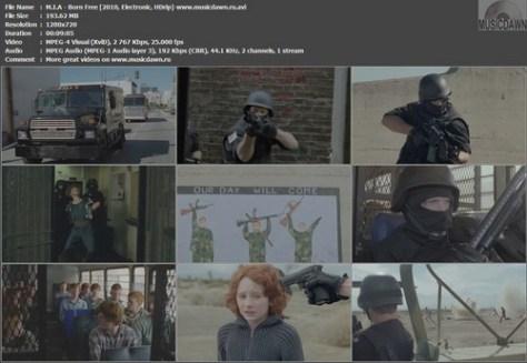 M.I.A. - Born Free (2010, Electronic, Alternative, HDrip 720p)