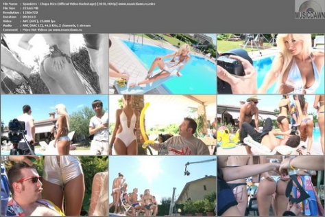 Spankers - Chupa Rico (Official Video Backstage) 2010, HDrip