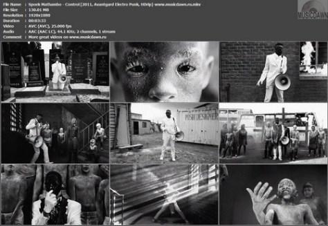 Spoek Mathambo – Control [2011, HDrip] Music Video