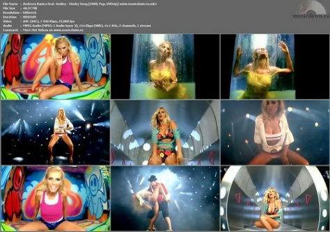Andreea Banica feat. Smiley – Hooky Song [2008, DVDrip] Music Video