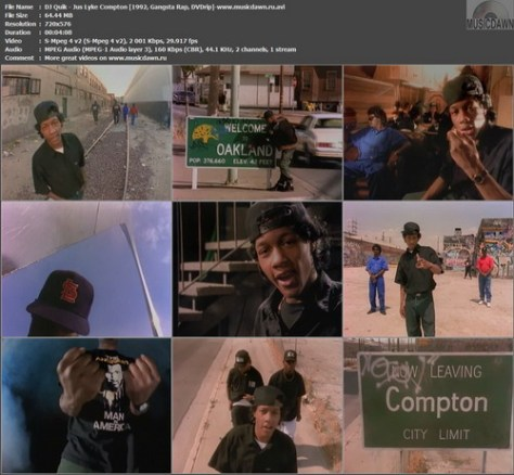 DJ Quik – Jus Lyke Compton [1992, DVDrip] Music Video (Re:Up)