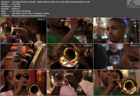 The Hypnotic Brass Ensemble - Planet Gibbous (2009, Jazz-Funk, HDrip)