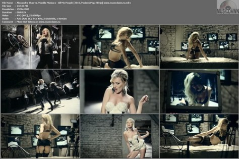 Alexandra Stan vs. Manilla Maniacs – All My People [2013, HD 1080p] Music Video