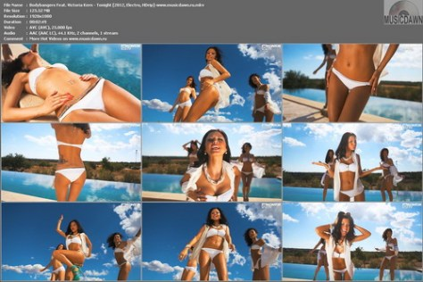 Bodybangers Feat. Victoria Kern - Tonight (2012, Electro, HD 1080p)
