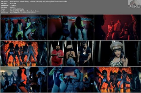 Busta Rhymes ft. Nicki Minaj – Twerk It [2013, HD 720p] Music Video