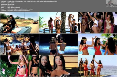 Fuego feat. El Potro Alvarez – Una Vaina Loca [2011, HD 1080p] Music Video
