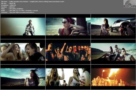Kallay Saunders feat. Rebstar – Tonight [2012, HD 720p] Music Video