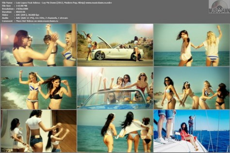 Luis Lopez Feat Adena - Lay Me Down [2012, Modern Pop, HD 1080p]