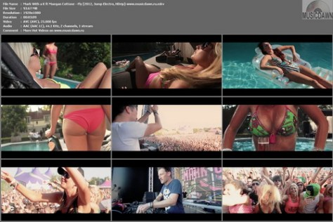 Mark With a K ft Maegan Cottone - Fly (2012, Jump Electro, HD 1080p)
