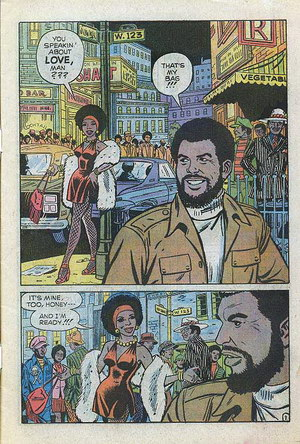 Up From Harlem comics: You Speakin about LOVE, man???