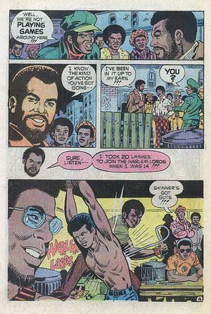 Up From Harlem comic: Harlem Lords