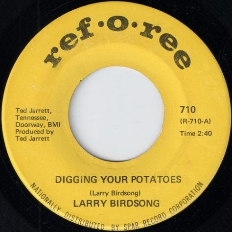 "Larry Birdsong – Digging Your Potatoes (Ref-o-Ree) [7""] '1969"