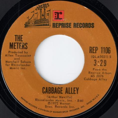"The Meters – Cabbage Alley (Reprise) [7""] '1972"