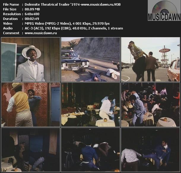 Dolemite Theatrical Trailer '1974 (DVD VOB)
