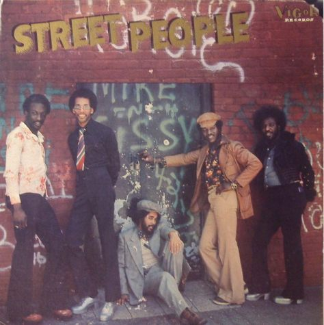 Street People - Self-Titled LP 1976 (Vigor) Cover Art