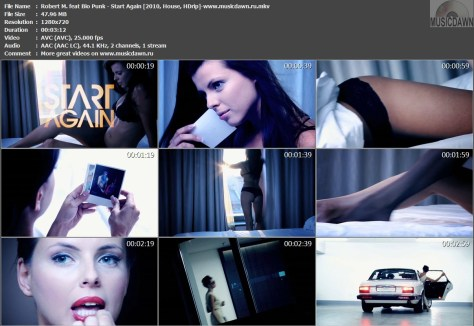 Robert M. feat Bio Punk – Start Again [2010, HDrip] Music Video