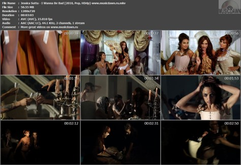 Jessica Sutta – I Wanna Be Bad [2010, HDrip] Music Video