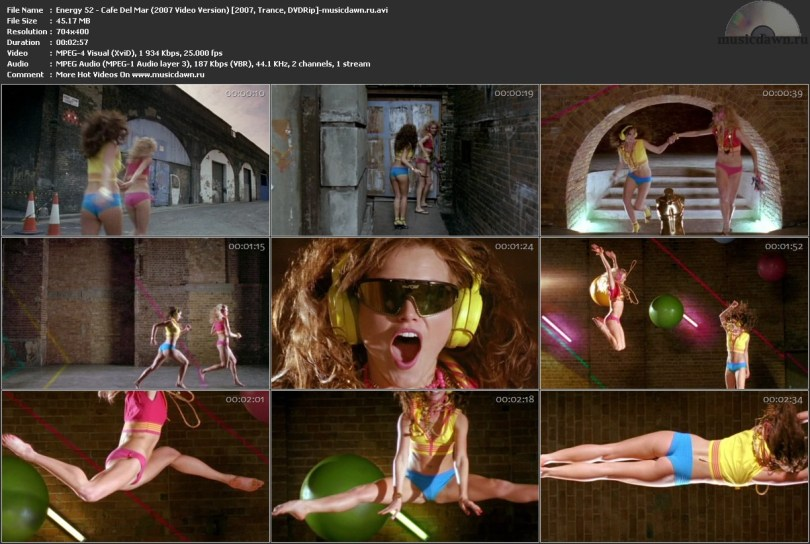 Energy 52 - Cafe Del Mar (2007 Video Version) (2007, Trance, DVDRip)