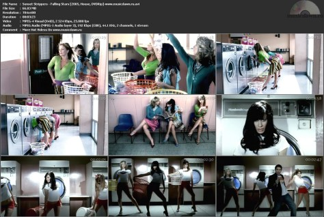 Sunset Strippers – Falling Stars [2005, DVDRip] Music Video