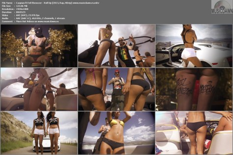 Caspian ft Evil Ebenezer – Roll Up [2013, HD 1080p] Music Video