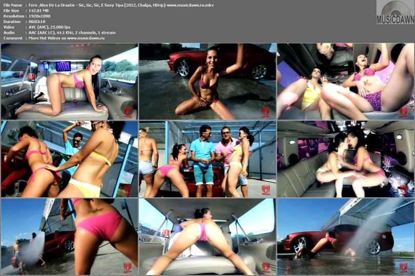 клип Fero & Alex De La Orastie - Sic, Sic, Sic, E Sexy Tipa [2012, HD 1080p]