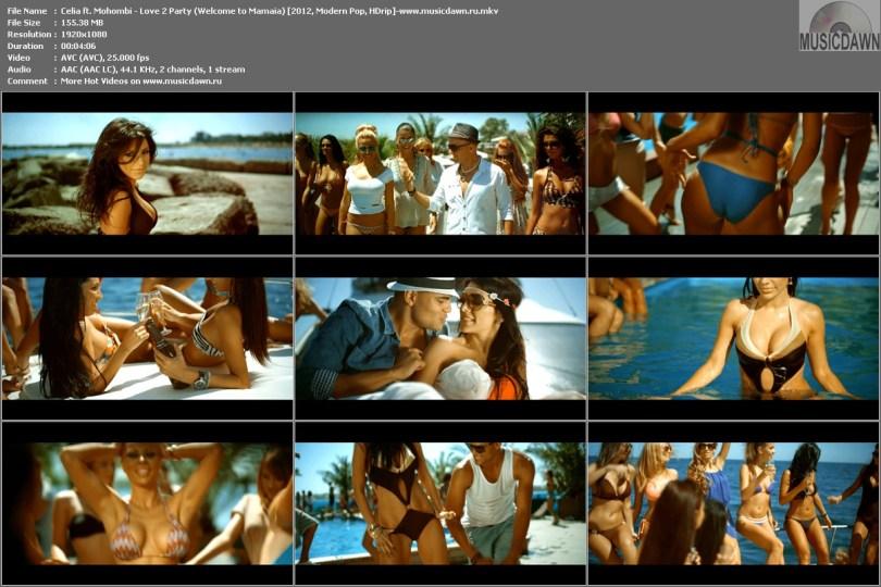 Клип Celia ft. Mohombi - Love 2 Party (Welcome to Mamaia) [2012, HD 1080p]