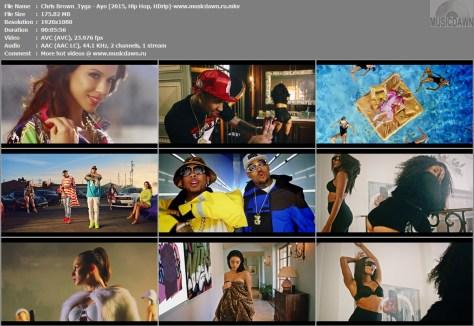 Клип Chris Brown & Tyga - Ayo [2015, HD 1080p]