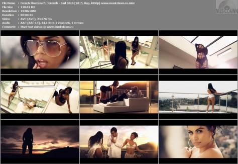 French Montana ft. Jeremih – Bad Bitch [2015, HD 1080p] Music Video