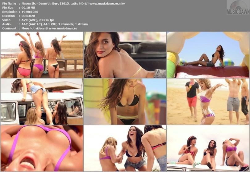Клип Neven Ilic - Dame Un Beso [2015, HD 1080p]