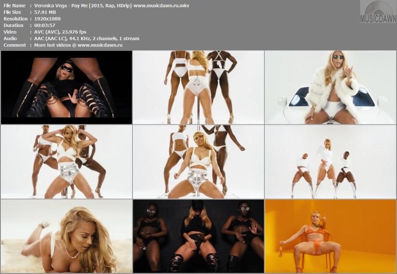Клип Veronica Vega - Pay Me HD 1080p