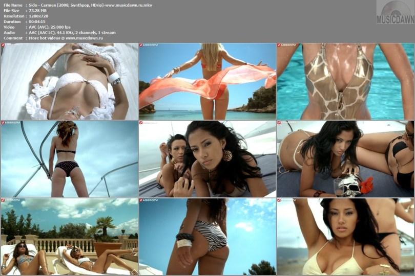 Клип Sido - Carmen [2008, Synthpop, HD 720p]