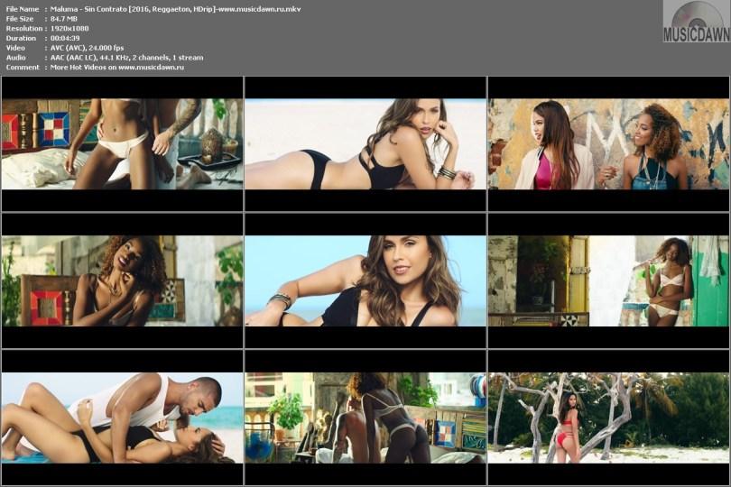 Клип Maluma - Sin Contrato [2016, Reggaeton, HD 1080p]