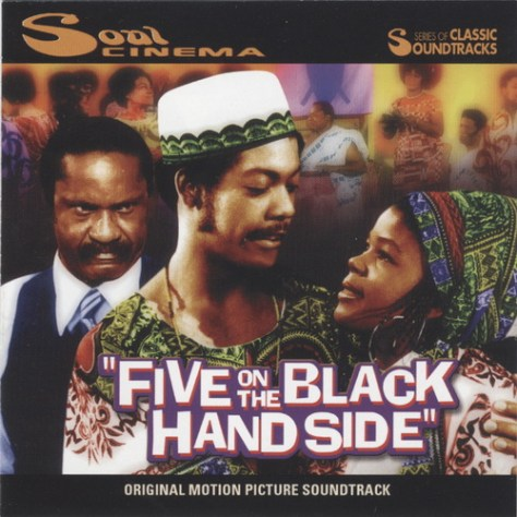 Keisa Brown - Five On The Black Hand Side Soundtrack Front Cover Art