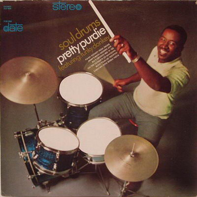 Bernard Pretty Purdie - Soul Drums '1968 Front Cover Art