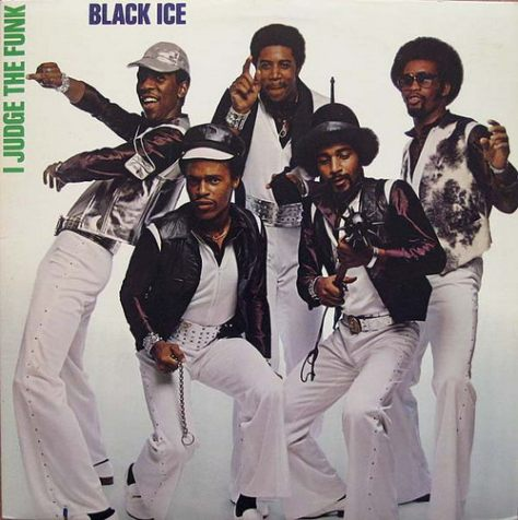 Black Ice - I Judge The Funk (Montage) 1979 Front Cover Art