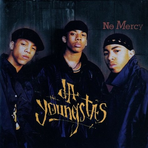 Da Youngstas - No Mercy (Atlantic) 1994 Front Cover Art