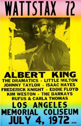 Wattstax 1972 Poster
