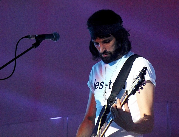Sergio PIzzorno of Kasabian in 2014. Photo by Kevin Gaughan