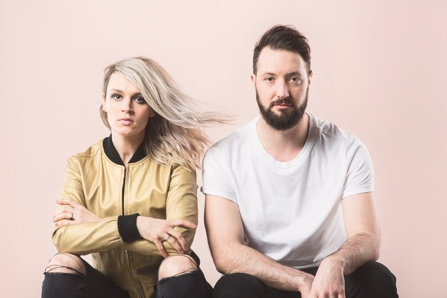 """Introducing Fraea, an exciting new synthpop duo from MInneapolis. Check out their debut single """"Criminal,"""" off their debut EP, Bend Your Bones, out April 29th."""